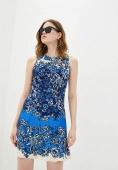 Платье, Desigual, цвет: синий. Артикул: DE002EWHUAT9.