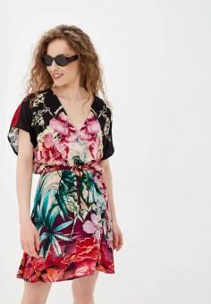 Платье, Desigual, цвет: мультиколор. Артикул: DE002EWHUAU1.