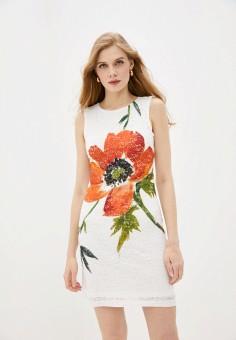 Платье, Desigual, цвет: белый. Артикул: DE002EWHUAU5.
