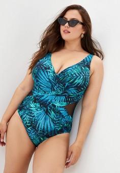 Купальник, Delice, цвет: синий. Артикул: DE027EWKIDH2. Одежда / Купальники и пляжная одежда