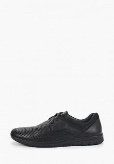 Ботинки, Der Spur, цвет: черный. Артикул: DE034AMIBOH8. Обувь / Ботинки / Низкие ботинки