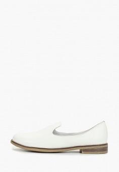 Лоферы, Der Spur, цвет: белый. Артикул: DE034AWDMLA4. Обувь / Туфли / Лоферы