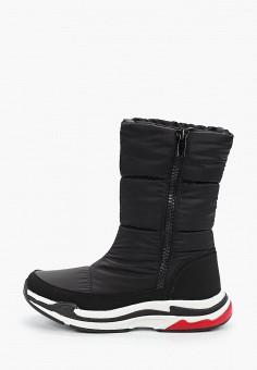 Дутики, Der Spur, цвет: черный. Артикул: DE034AWFSTB3. Обувь / Сапоги / Дутики