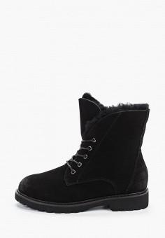 Ботинки, Der Spur, цвет: черный. Артикул: DE034AWFSTG8. Обувь / Ботинки / Высокие ботинки