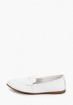 Лоферы, Der Spur, цвет: белый. Артикул: DE034AWIBOK0. Обувь / Туфли / Лоферы