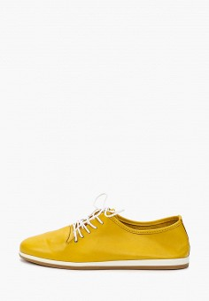 Ботинки, Der Spur, цвет: желтый. Артикул: DE034AWIBOK8. Обувь / Ботинки / Низкие ботинки
