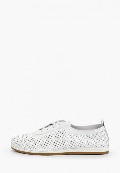 Ботинки, Der Spur, цвет: белый. Артикул: DE034AWIBRO8. Обувь / Ботинки / Низкие ботинки