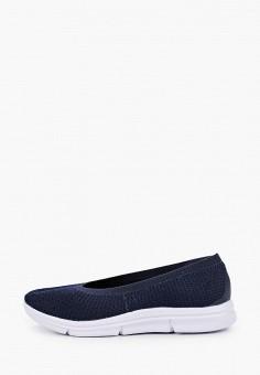 Слипоны, Der Spur, цвет: синий. Артикул: DE034AWIBRR5. Обувь / Слипоны
