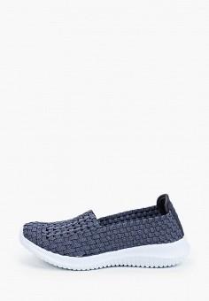 Слипоны, Der Spur, цвет: синий. Артикул: DE034AWIBRS8. Обувь / Слипоны