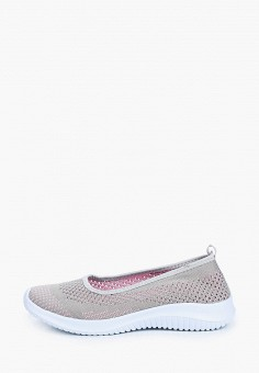 Слипоны, Der Spur, цвет: серый. Артикул: DE034AWIBRT0. Обувь / Слипоны