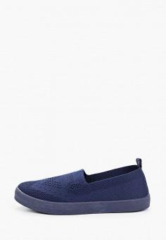 Слипоны, Der Spur, цвет: синий. Артикул: DE034AWIBRT9. Обувь / Слипоны