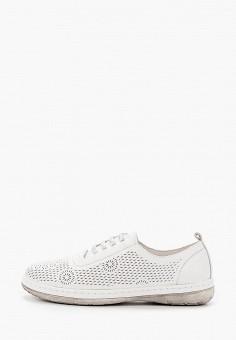 Ботинки, Der Spur, цвет: белый. Артикул: DE034AWIBRU0. Обувь / Ботинки / Низкие ботинки