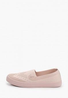 Слипоны, Der Spur, цвет: розовый. Артикул: DE034AWIBRW3. Обувь / Слипоны