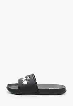 Сланцы, Diadora, цвет: черный. Артикул: DI026AUKGGS2. Обувь / Резиновая обувь