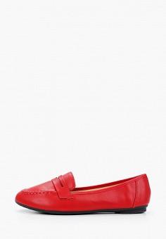Лоферы, Diamantique, цвет: красный. Артикул: DI035AWIOVD7. Обувь / Туфли / Лоферы