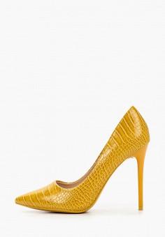 Туфли, Diamantique, цвет: желтый. Артикул: DI035AWITLJ6. Обувь / Туфли / Лодочки