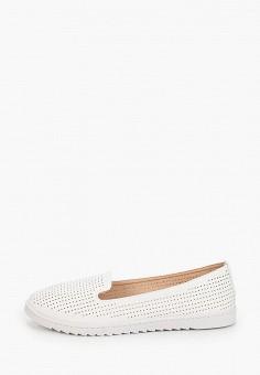 Лоферы, Diamantique, цвет: белый. Артикул: DI035AWITLL5. Обувь / Туфли / Лоферы