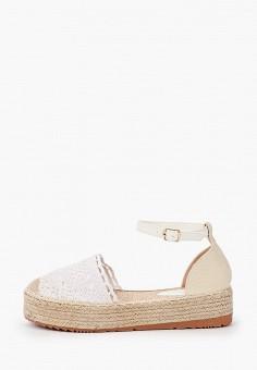 Эспадрильи, Diamantique, цвет: белый. Артикул: DI035AWIZLJ5. Обувь / Эспадрильи