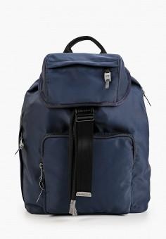 Рюкзак, Diesel, цвет: синий. Артикул: DI303BMHHRD0. Аксессуары / Рюкзаки