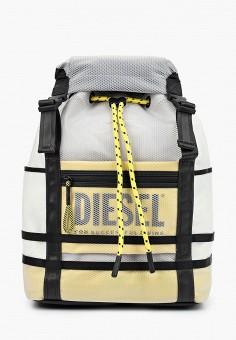 Рюкзак, Diesel, цвет: белый. Артикул: DI303BMHVIZ4. Аксессуары / Рюкзаки