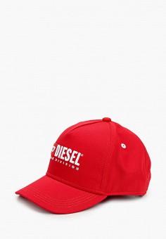 Бейсболка, Diesel, цвет: красный. Артикул: DI303CKIWQO2. Девочкам / Аксессуары