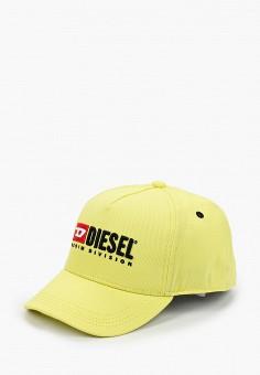 Бейсболка, Diesel, цвет: желтый. Артикул: DI303CKIWQO5. Девочкам / Аксессуары