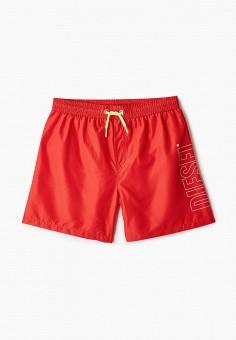Шорты для плавания, Diesel, цвет: красный. Артикул: DI303EBIWTK7.