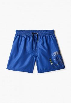Шорты для плавания, Diesel, цвет: синий. Артикул: DI303EBIWTL0.