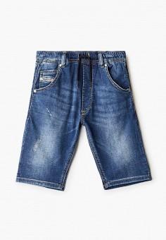 Шорты джинсовые, Diesel, цвет: синий. Артикул: DI303EBIWTL4.