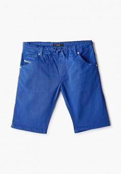Шорты, Diesel, цвет: синий. Артикул: DI303EBIWTL5.