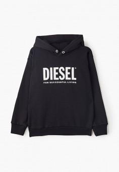 Худи, Diesel, цвет: черный. Артикул: DI303EBIWTL7.