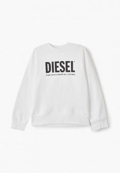 Свитшот, Diesel, цвет: белый. Артикул: DI303EBIWTL8.