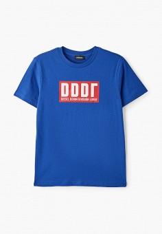 Футболка, Diesel, цвет: синий. Артикул: DI303EBIWTM3.