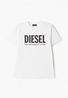 Футболка, Diesel, цвет: белый. Артикул: DI303EBIWTM6.