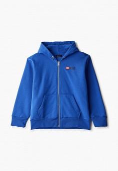 Толстовка, Diesel, цвет: синий. Артикул: DI303EBIWTN4. Мальчикам / Одежда