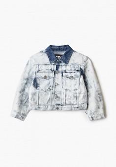 Куртка джинсовая, Diesel, цвет: голубой. Артикул: DI303EGIWRI7.