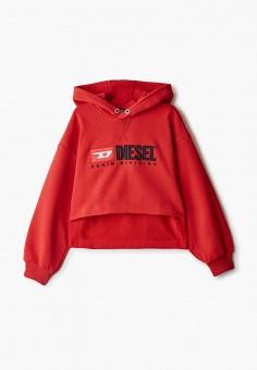 Худи, Diesel, цвет: красный. Артикул: DI303EGIWRJ1.