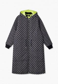 Куртка утепленная, Diesel, цвет: черный. Артикул: DI303EGJUEU8.