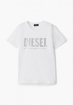 Футболка, Diesel, цвет: белый. Артикул: DI303EGJUEV9.