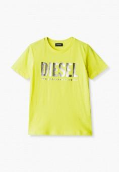 Футболка, Diesel, цвет: желтый. Артикул: DI303EGJUEW0.