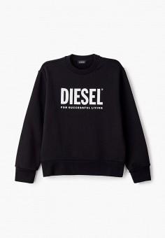 Свитшот, Diesel, цвет: черный. Артикул: DI303EKJUHP7.