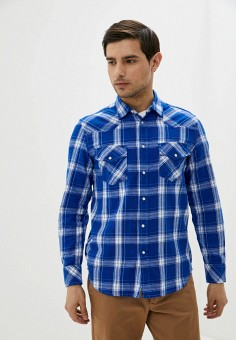 Рубашка, Diesel, цвет: синий. Артикул: DI303EMIIBD0.