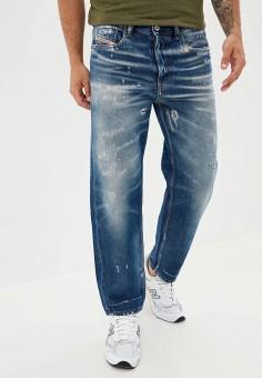 Джинсы, Diesel, цвет: синий. Артикул: DI303EMJQYL6. Одежда / Джинсы / Прямые джинсы