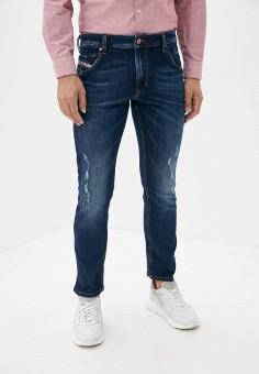 Джинсы, Diesel, цвет: синий. Артикул: DI303EMJQYM4. Одежда / Джинсы / Прямые джинсы