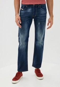 Джинсы, Diesel, цвет: синий. Артикул: DI303EMJQYO3. Одежда / Джинсы / Прямые джинсы