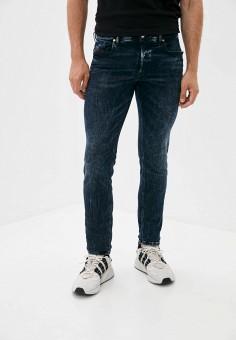 Джинсы, Diesel, цвет: синий. Артикул: DI303EMJQYT2. Одежда / Джинсы / Зауженные джинсы