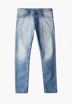 Джинсы, Diesel, цвет: голубой. Артикул: DI303EMJQYW3. Одежда / Джинсы / Зауженные джинсы