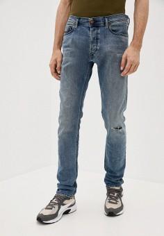 Джинсы, Diesel, цвет: синий. Артикул: DI303EMJQYW9. Одежда / Джинсы / Зауженные джинсы