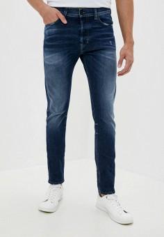 Джинсы, Diesel, цвет: синий. Артикул: DI303EMJQYY8. Одежда / Джинсы / Зауженные джинсы