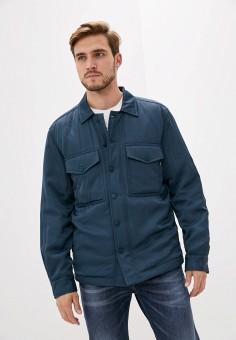 Куртка утепленная, Diesel, цвет: синий. Артикул: DI303EMJQZJ7. Одежда / Верхняя одежда / Демисезонные куртки